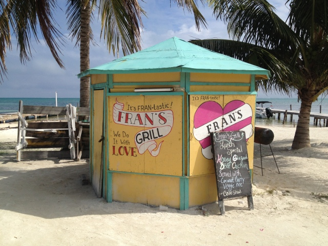 Fran is a big deal in Belize too.