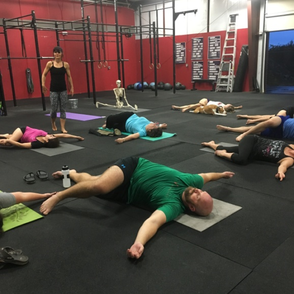 Not You're Normal Yoga Class.