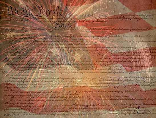 july_4_collage_declaration_flag_and_fireworks